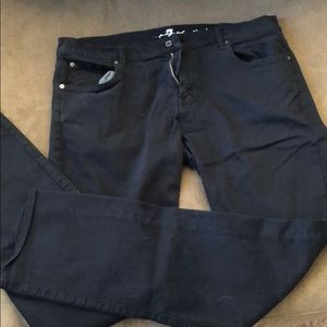 7 for all mankind jeans - size 38 - dark blue
